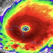 Hurricane Dorian is now tied for the strongest hurricane in the modern area to make landfall in the Atlantic Basin. The