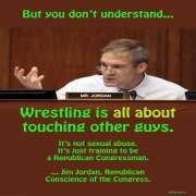 Jim Jordan Ladies and Gentleman...