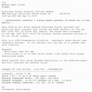 1245pm Update: Hurricane #Dorian has made landfall at Elbow Cay, Abacos.  Maximum sustained winds have increased to 185