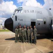 Today's Crew for the Hurricane Hunter Flights. 403WG