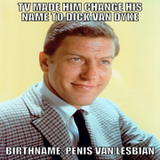 TV Made Him Change His Name to Dick Van Dyke